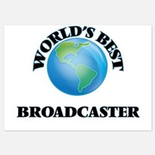 World's Best Broadcaster Invitations