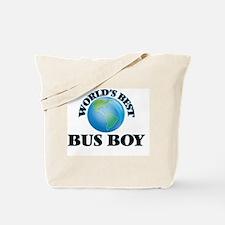 World's Best Bus Boy Tote Bag