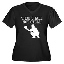 Thou Shall Not Steal Plus Size T-Shirt