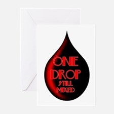 One Drop Greeting Cards (Pk of 10)