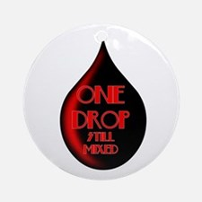 One Drop Ornament (Round)