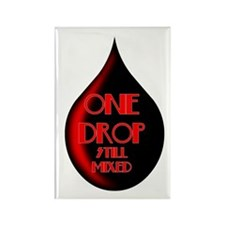 One Drop Rectangle Magnet