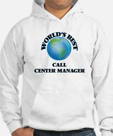 World's Best Call Center Manager Hoodie