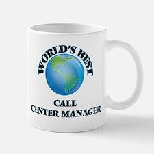 World's Best Call Center Manager Mugs