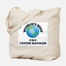 World's Best Call Center Manager Tote Bag