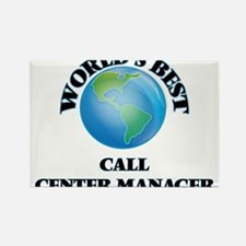 World's Best Call Center Manager Magnets