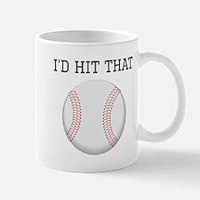 Id Hit That Baseball Mugs