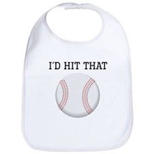 Id Hit That Baseball Bib