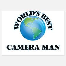 World's Best Camera Man Invitations