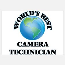 World's Best Camera Technician Invitations