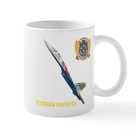 Su-27 Russian Knights Mug