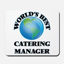 World's Best Catering Manager Mousepad