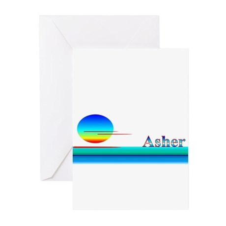 Asher Greeting Cards (Pk of 10)
