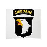 101st airborne division Fleece Blankets