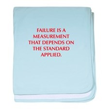 FAILURE IS A MEASUREMENT THAT DEPENDS ON THE STAND