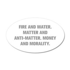 FIRE AND WATER MATTER AND ANTI MATTER MONEY AND MO