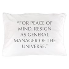 FOR PEACE OF MIND RESIGN AS GENERAL MANAGER OF THE
