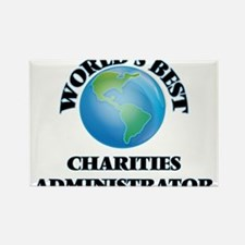 World's Best Charities Administrator Magnets