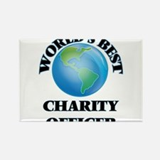 World's Best Charity Officer Magnets