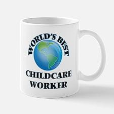 World's Best Childcare Worker Mugs