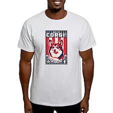 corgi_usa_white T-Shirt
