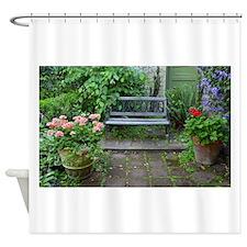 Funny Botanical gardens Shower Curtain