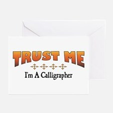 Trust Calligrapher Greeting Cards (Pk of 10)
