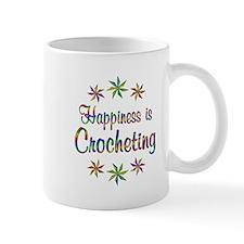 Happiness is Crocheting Small Mug