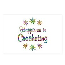 Happiness is Crocheting Postcards (Package of 8)