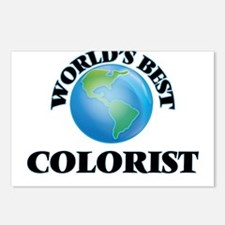 World's Best Colorist Postcards (Package of 8)