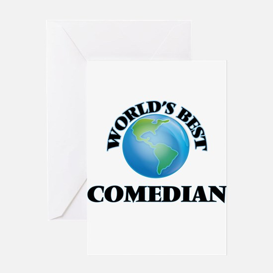 World's Best Comedian Greeting Cards