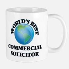 World's Best Commercial Solicitor Mugs