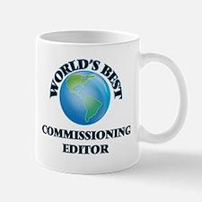 World's Best Commissioning Editor Mugs