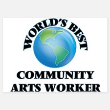 World's Best Community Arts Worker Invitations