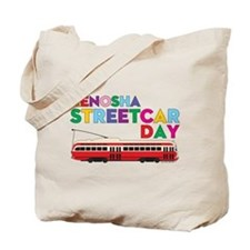 Kenosha Streetcar Day Tote Bag