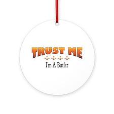 Trust Butler Ornament (Round)