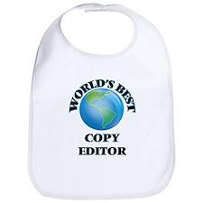 World's Best Copy Editor Bib