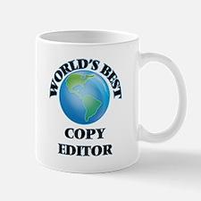 World's Best Copy Editor Mugs