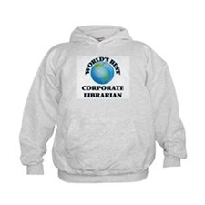 World's Best Corporate Librarian Hoodie
