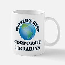 World's Best Corporate Librarian Mugs