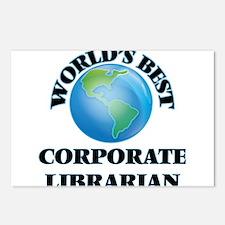 World's Best Corporate Li Postcards (Package of 8)