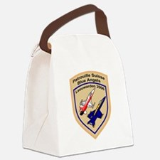 Cute Force Canvas Lunch Bag