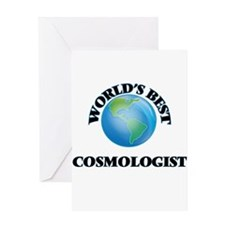 World's Best Cosmologist Greeting Cards