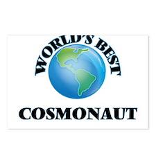 World's Best Cosmonaut Postcards (Package of 8)