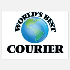 World's Best Courier Invitations