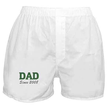 Dad since 2008 (green) Boxer Shorts