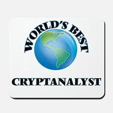 World's Best Cryptanalyst Mousepad