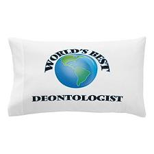 World's Best Deontologist Pillow Case