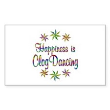 Happiness is Clog Dancing Decal
