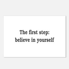 The First Step: Believe I Postcards (Package of 8)